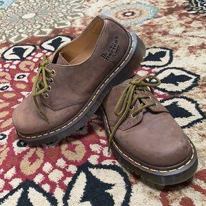Dr. Martens 1561 Stanton Classic Brown Oxford Shoe